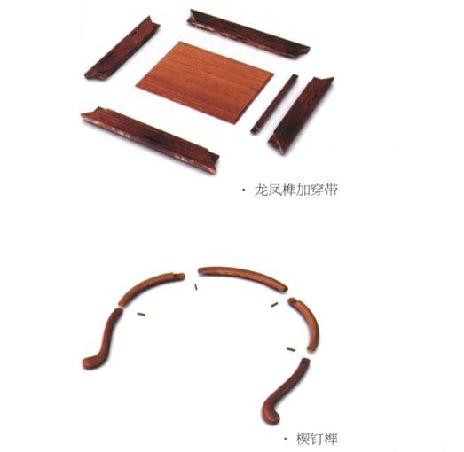 家具上的榫卯结构源于建筑中的桦榫卯结构.